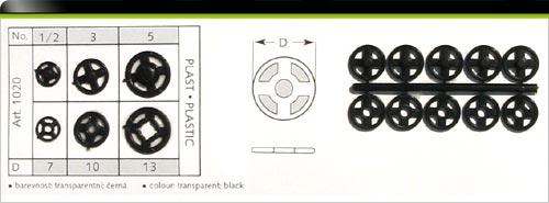 Patentky plastové