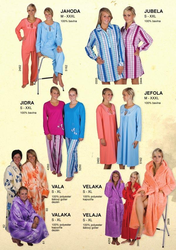 Pyžamo dámske